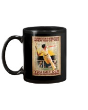 You Don't Stop Playing Tennis When You Get Old You Get Old When you Stop Playing Tennis Mug -Mug For Tennis Players - Tennis Player Birthday Xmas Gift Mug back
