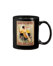 You Don't Stop Playing Tennis When You Get Old You Get Old When you Stop Playing Tennis Mug -Mug For Tennis Players - Tennis Player Birthday Xmas Gift Mug front