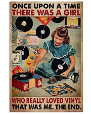 Once Upon A Time There Was A Girl Who Really Loved Vinyl That Was Me The End Poster - Poster For Vinyl Lovers - Vinyl Lover Birthday Xmas Gift 11x17 Poster front
