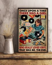 Once Upon A Time There Was A Girl Who Really Loved Vinyl That Was Me The End Poster - Poster For Vinyl Lovers - Vinyl Lover Birthday Xmas Gift 11x17 Poster lifestyle-poster-3