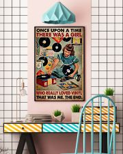 Once Upon A Time There Was A Girl Who Really Loved Vinyl That Was Me The End Poster - Poster For Vinyl Lovers - Vinyl Lover Birthday Xmas Gift 11x17 Poster lifestyle-poster-6