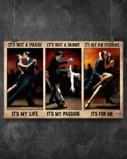 It's Not A Phase It's My Life It's Not A Hobby It's My Passion It's No For Everyone It's For Me Poster - Man And Woman Dancing Poster - No Frame 17x11 Poster aos-poster-landscape-17x11-lifestyle-12