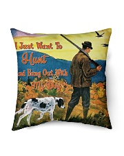 "Special Edition Indoor Pillow - 18"" x 18"" back"
