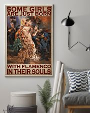 Some Girls Are Just Born With Flamenco In Their Souls Poster - Home Decor - Wall Art - No Frame Full Size 11x17 16x24 24x36 Inches 11x17 Poster lifestyle-poster-1