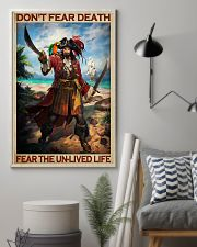 Don't Fear Death Fear The Unlived Life Vintage Poster - No Frame Full Size 11x17 16x24 24x36 Inches 11x17 Poster lifestyle-poster-1