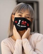Vintage Art Cloth face mask aos-face-mask-lifestyle-17