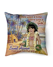 """Special Edition Indoor Pillow - 18"""" x 18"""" back"""