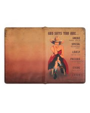 Special Edition Large - Leather Notebook full