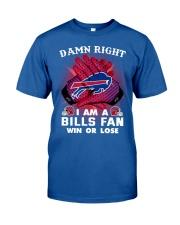 I AM BILLS FAN SHIRT Classic T-Shirt front