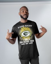 I AM A PACKER FAN SHIRT Classic T-Shirt apparel-classic-tshirt-lifestyle-front-32