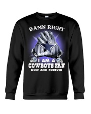 I AM COWBOYS FAN Crewneck Sweatshirt thumbnail