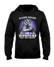 I AM COWBOYS FAN Hooded Sweatshirt thumbnail