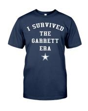 I SURVIVED GARRETT ERA SHIRT Classic T-Shirt front