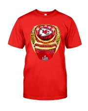 CHIEFS CHAMPIONSHIP RING T-SHIRT Classic T-Shirt front