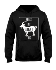 Relax Ive Goat This Funny Animal T Shirt Gift Goat Hooded Sweatshirt thumbnail