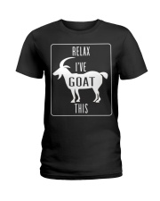 Relax Ive Goat This Funny Animal T Shirt Gift Goat Ladies T-Shirt thumbnail