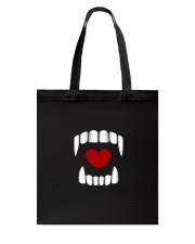 The Vampire Debt - Love Bites alt design Tote Bag thumbnail
