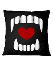 The Vampire Debt - Love Bites alt design Square Pillowcase thumbnail