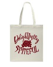 Delightfully Spiteful Tote Bag thumbnail