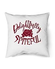 "Delightfully Spiteful Indoor Pillow - 16"" x 16"" thumbnail"