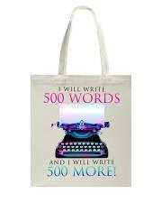 I will write Tote Bag thumbnail