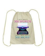 I will write Drawstring Bag thumbnail