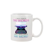 I will write Mug tile