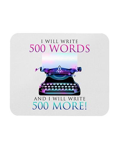 I will write