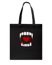 The Vampire Debt - Love Bites Tote Bag thumbnail