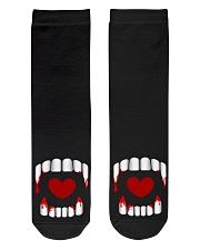The Vampire Debt - Love Bites Crew Length Socks thumbnail