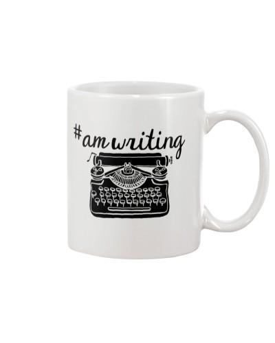 Hashtag AmWriting - Typewriter