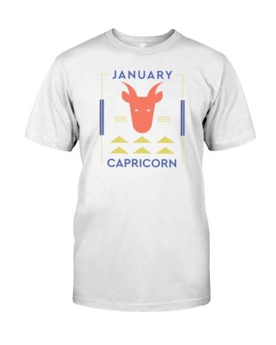 January Capricorn Minimal