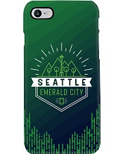 Seattle Emerald City Pattern Phone Case thumbnail