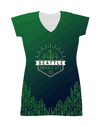 Seattle Emerald City Pattern