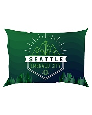 Seattle Emerald City Pattern Rectangular Pillowcase thumbnail