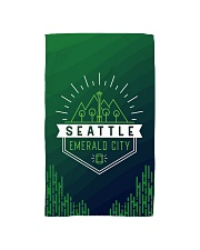 Seattle Emerald City Pattern Hand Towel thumbnail