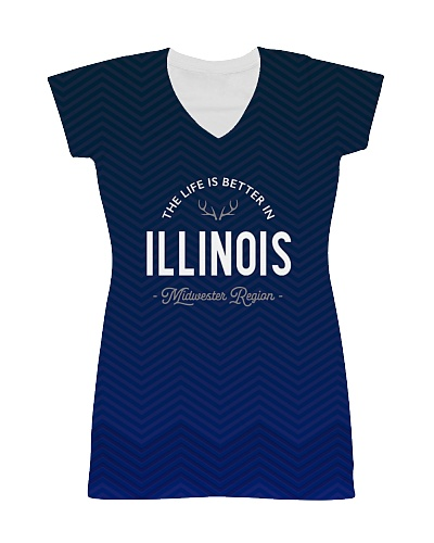 Life Is Better In Illinois Pattern