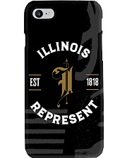 Illinois Represent Pattern Phone Case thumbnail