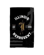 Illinois Represent Pattern Hand Towel thumbnail