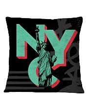 NYC Acronym Square Pillowcase thumbnail