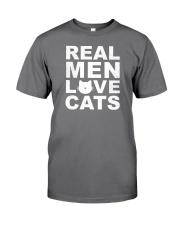 Real Man Love Cats Premium Fit Mens Tee thumbnail