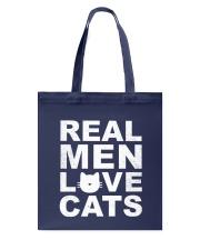Real Man Love Cats Tote Bag thumbnail