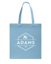 Ms Adams Tote Bag thumbnail
