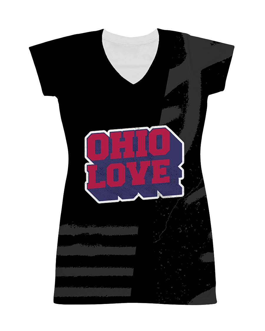 Ohio Love All-over Dress