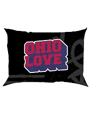 Ohio Love Rectangular Pillowcase tile