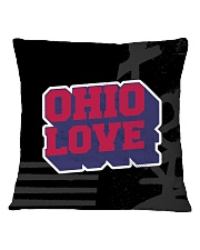 Ohio Love Square Pillowcase tile