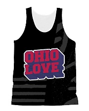Ohio Love All-Over Unisex Tank tile