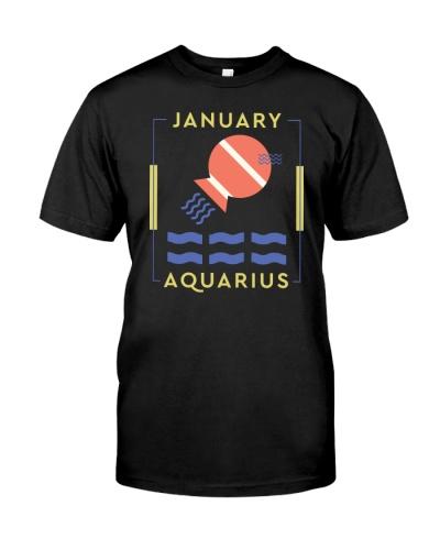 January Aquarius Minimum