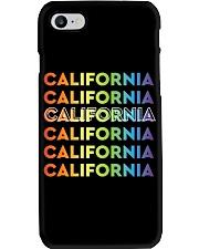 California Rainbow Gradient Phone Case thumbnail