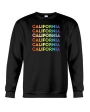 California Rainbow Gradient Crewneck Sweatshirt thumbnail